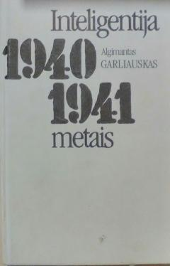 Inteligentija 1940–1941 metais