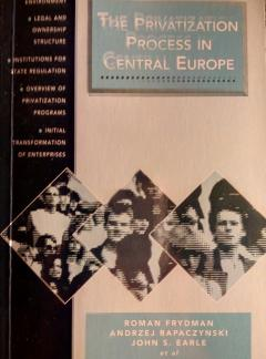 The Privatization Process in Central Europe