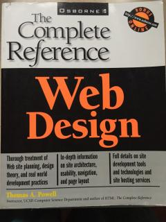 Web Design - The Complete Reference
