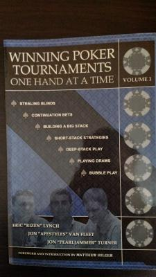 Winning Poker Tournaments One Hand at a Time Volume I, II, III
