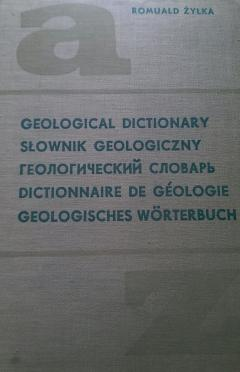English-polish-russian-french-german Geological dictionary