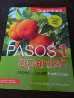 Pasos 1: Spanish Beginner's course (Fourth Edition)