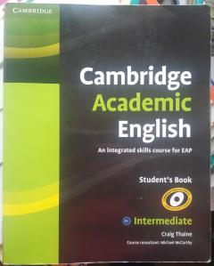 Cambridge Academic English B1  Intermediate Student's Book: An Integrated Skills Course for EAP