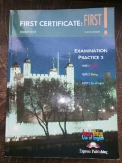 First Certificate First: Examination Practice 2