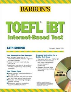 TOEFL iBT Internet-Based Test 12th edition