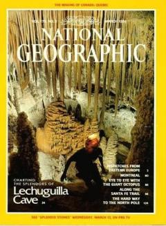 National Geographic Magazine, March 1991