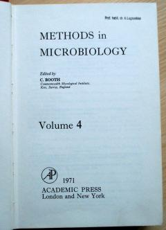Methods in Microbiology