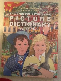 the english - lithuanian picture dictionary for children
