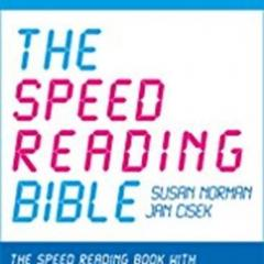 Spd Rdng – The Speed Reading Bible: The Speed Reading Book with 37 Techniques, Tips