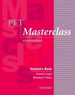 Pet Masterclass Intermediate. Students book