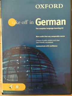 Take off in German: The complete language-learning kit (audio + course book)