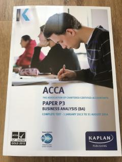 Business Analysis, ACCA P3