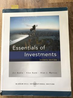 Essentials of Investments, Seventh edition
