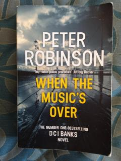 When the Music's Over: DCI Banks NOVEL