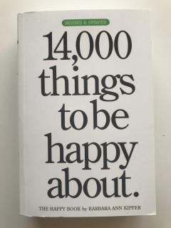 14000 things to be happy about.