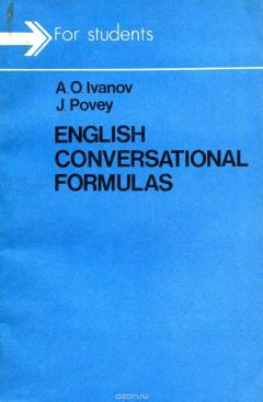 ENGLISH CONVERSATIONAL FORMULAS