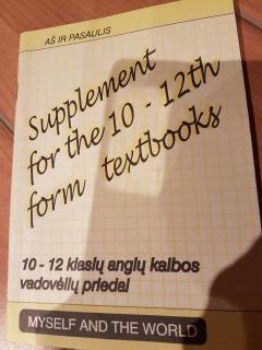 Supplement for the 10-12th form textbooks (Myself and the World)