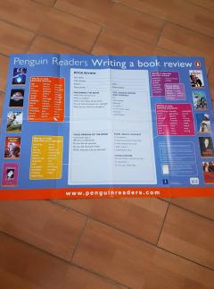 English classroom posters (Writing a book review)