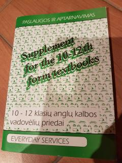 Supplement for the 10-12th form textbooks (Everyday services)
