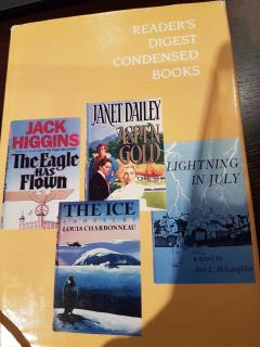 Reader's Digest Condensed Books Volume 5 (Eagle Has Flown/ The Ice/ Aspen Gold/ Lightning in July)