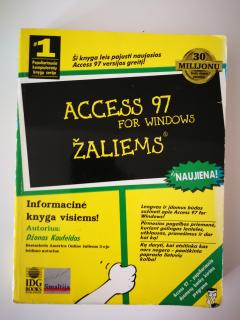 Access 97 for Windows žaliems
