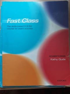 Fast Class: Student's Book