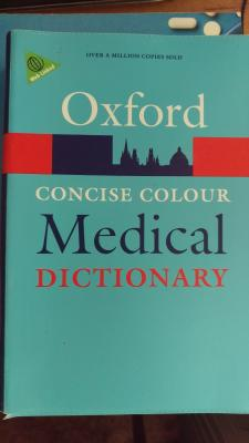 Oxford medical dictionary fifth edition