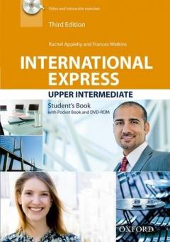 International Express Upper Intermediate Student's Book with Pocket Book and DVD-ROM