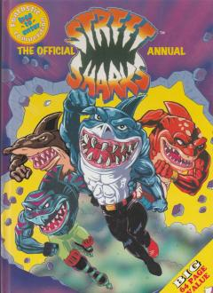 Official Street Sharks Annual