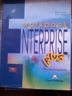 Workbook enterprise plus pre-intermediate
