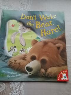 Don,t wake the bear,hare!