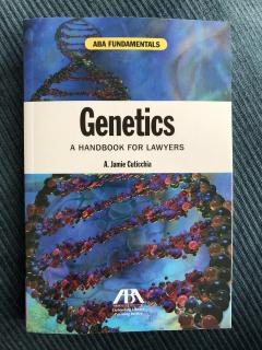 Genetics a handbook for lawyers