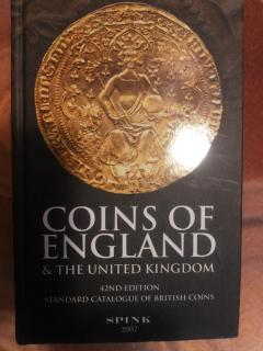 Coins of England and the United Kingdom, 42nd edition