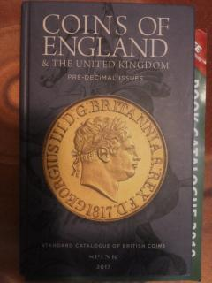 Coins of England and the United Kingdom, 52nd edition, pre-decimal issues