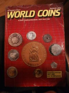 1991 standard catalog of world coins (1801-1990), 17th edition, complete coverage