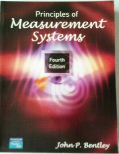 Principles of measurements systems