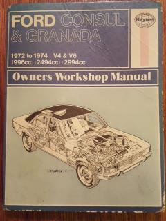 Ford Consul and granada 1972-1974 workshop manual