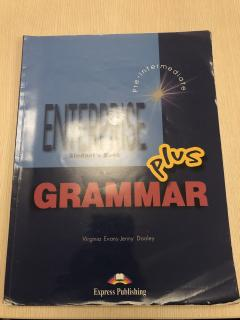 Enterprise Plus Student's Book Grammar