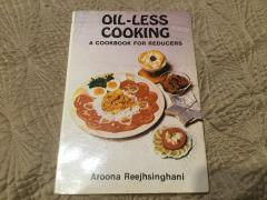 Oil-less cooking. A cookbook forreducers