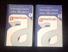Introduction into Modern American 1, 2