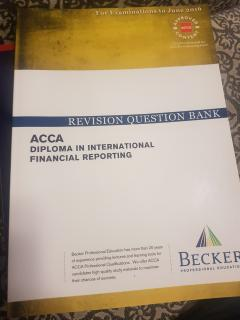 ACCA diploma in international financial reporting. Revision question bank.
