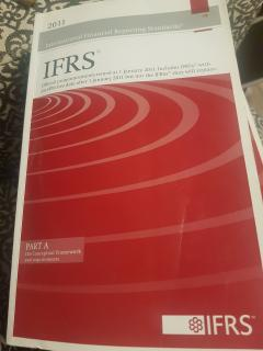 IFRS. Part A. The conceptual framework and requirements.
