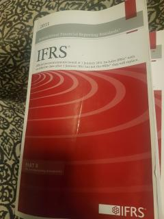 IFRS. Part B. The accompanying documents.