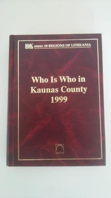 Who is who in Kaunas County 1999