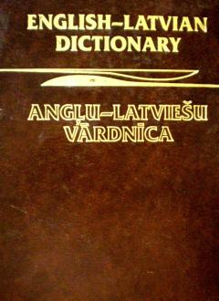 English-latvian dictionary