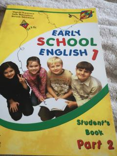 Early School English 1 Student's Book (Part 2)