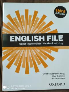 English file. Upper intermediate. Student's book and workbook