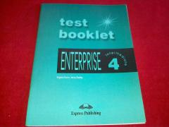 Enterprise 4. Test booklet. Intermediate