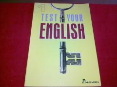 Test Your English 1. With answers. Intermediate level form 7-8