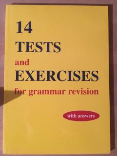 14 tests and exercises for grammar revision
